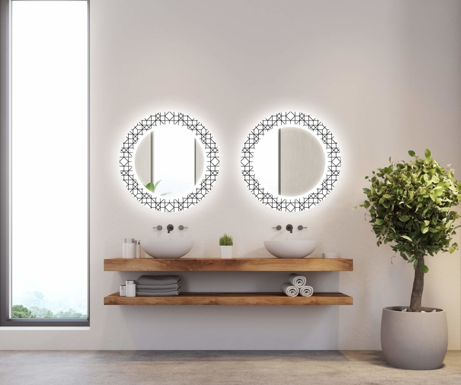 Zrcadlo Decor LED 010